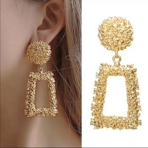 COPY - Vintage Style Gold Earrings